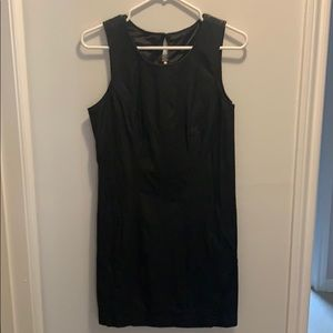 Faux Leather Free People dress.